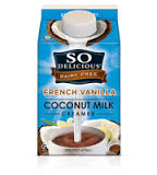 So Delicious French Vanilla Creamer