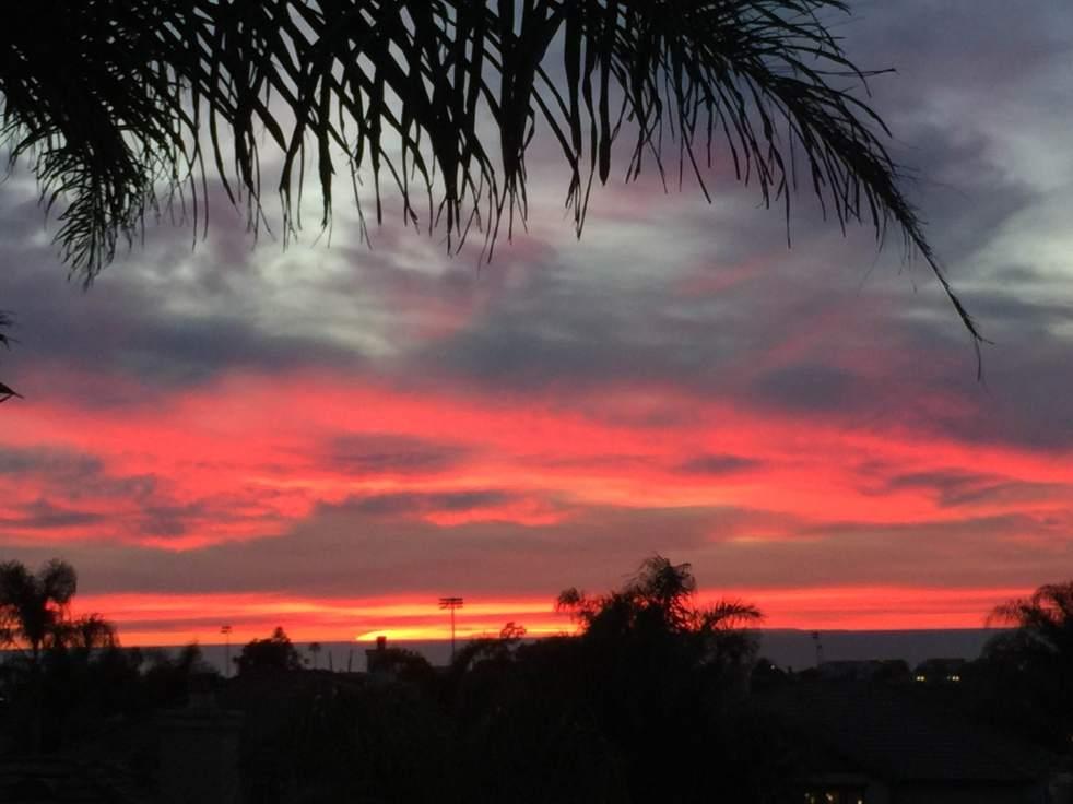 Sunset at 6557 Bluebonnet Dr