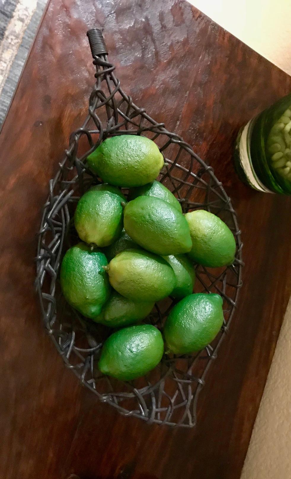 Limes for Christmas